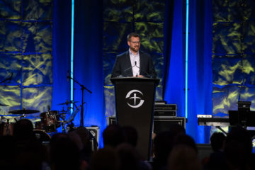 Dr. Kent Brantly encouraged medical professionals to continue serving faithfully and with compassion even in the face of great challenges.