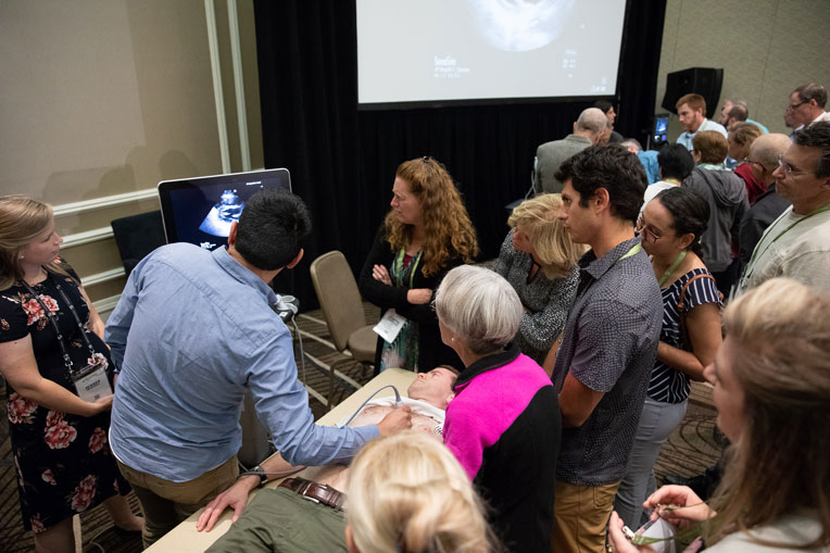 Conference attendees enjoyed a series of demonstrations on technology, methodology, and diagnosis during breakout sessions at Prescription for Renewal in Orlando.
