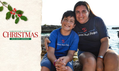 Vanessa and her son Mateo heard about God's love through the Samaritan's Purse Children's Heart Project.