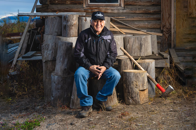 Billy Honea is traditional chief of Ruby, Alaska, and was integral in facilitating the new church building for Ruby Bible Church.