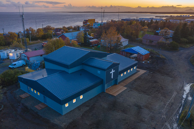 Dillingham Moravian Church now has a steel-constructed building that can facilitate a growing ministry and withstand the harsh Alaskan winters.