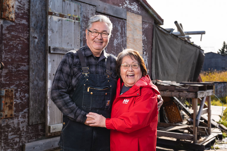 The Berglofs are longtime residents of Dillingham and both became believers and grew up at Dillingham Moravian Church.