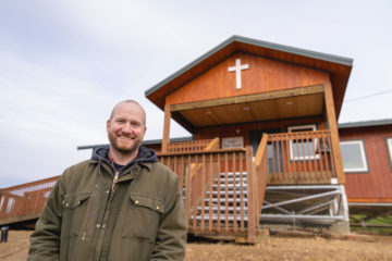 Chris Kopp is a pastor 50 miles downriver from Ruby, but his church, Galena Bible Church, was started by Ruby Bible Church in the 1980s. He was project manager on the new building.