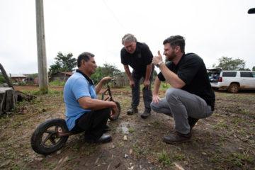 Edward Graham meets with Pastor Jose