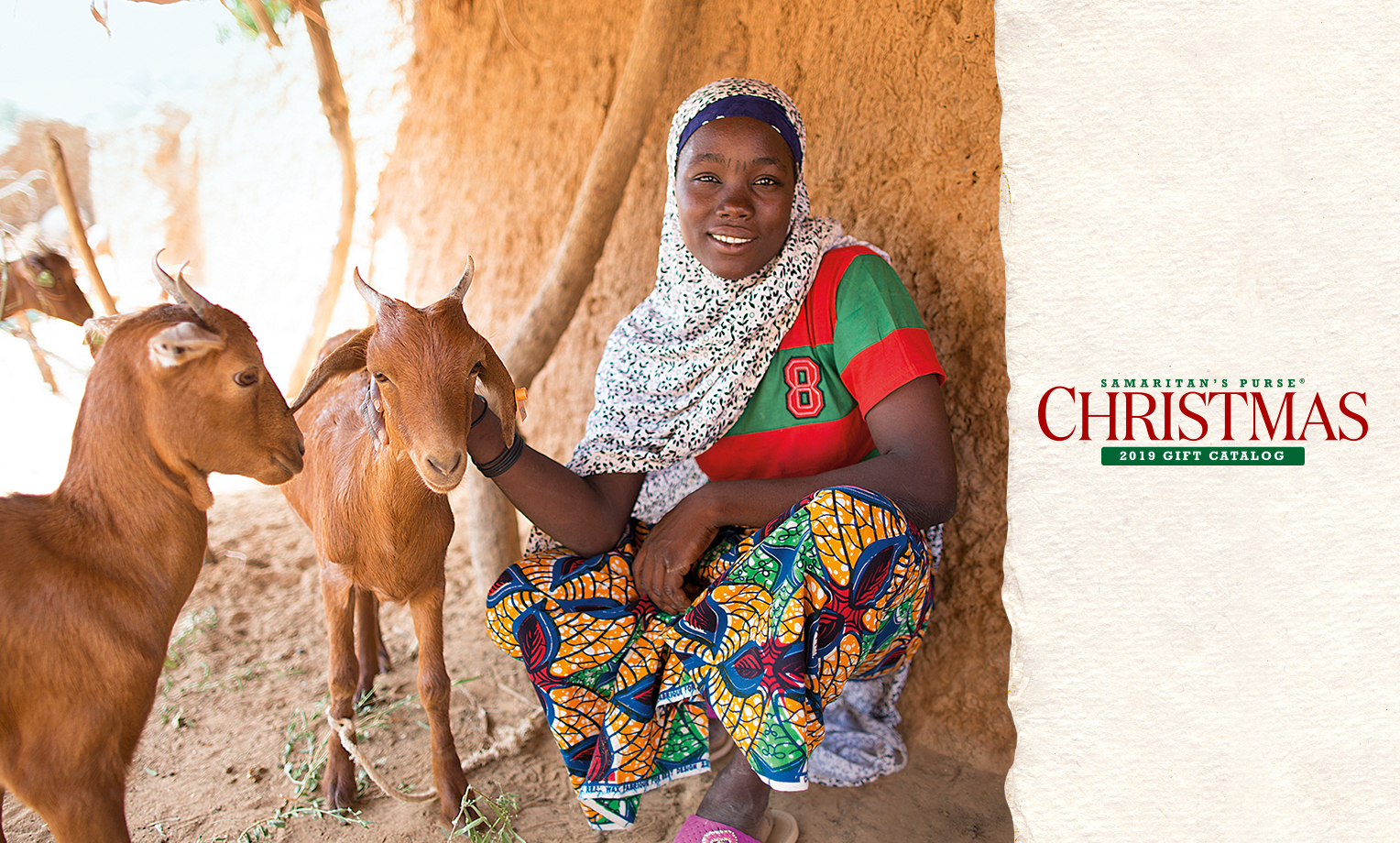 Just one goat or dairy animal can provide a better life for impoverished people in countries like Haiti, Kenya, Uganda, and Vietnam.