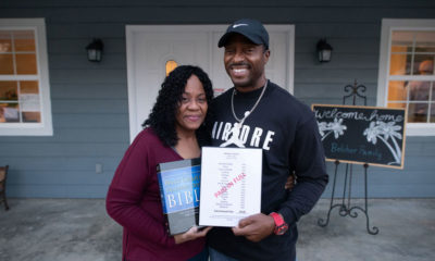 Tina Belcher, known as Miss Angel, and her husband Andre recently moved back into their home rebuilt by Samaritan's Purse.