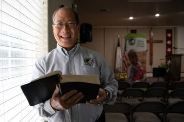 The Lord saved Manny Ma at age 57, and he now serves year-round with Operation Christmas Child.