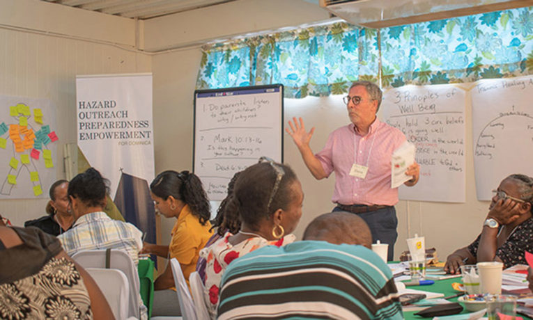 A four-day trauma healing training helped equip pastors and church leaders for ministry during and after a crisis.