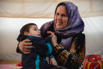 Sera provides much care and love to her son, who is physically and mentally disabled.