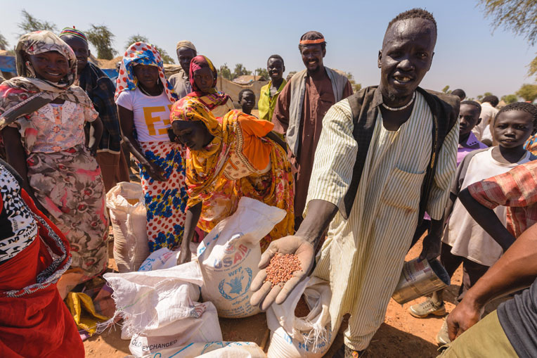 Some refugees have been living in Maban County for nearly 10 years and food scarcity continues to remain a problem.