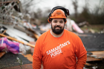 Charles is one of many volunteers who came from across the country to serve in DeSoto County.