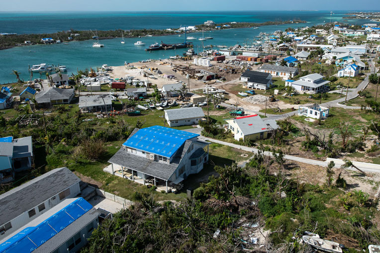 Samaritan's Purse continues to bring relief to Man-O-War and to other parts of the Bahamas impacted by Hurricane Dorian.