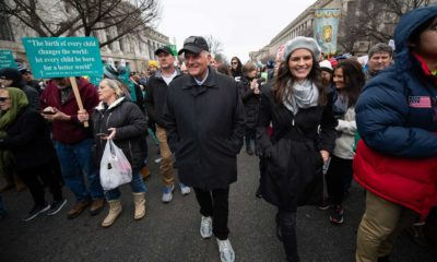 Franklin Graham and his daughter Cissie Graham Lynch participated in the 2020 March for Life on Jan. 24.