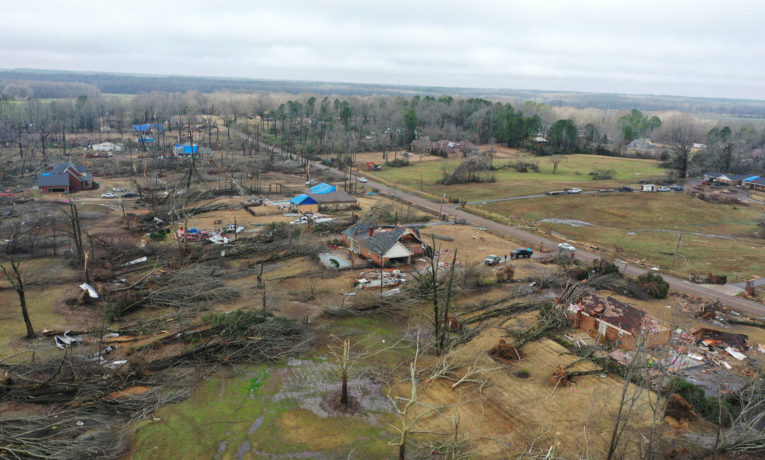 Samaritan's Purse is working in Desoto County, Mississippi, where tornadoes cut a long path of destruction.