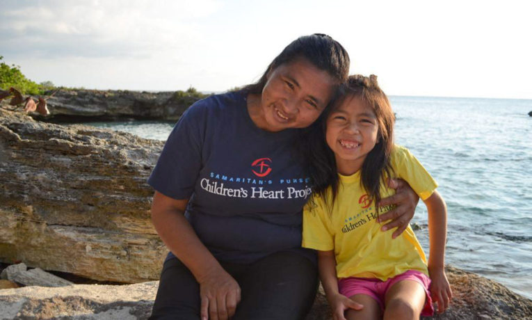 Maria Nelly and her mom are grateful to our Children's Heart Project for giving them hope for Maria Nelly's health and for helping them to learn about the hope found in Christ.