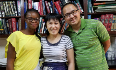 Hans Lin and Christine Wang served the Lord faithfully at Hopital Baptiste Biblique in Togo.