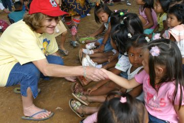 Mary Damron is one of the earliest advocates for the work of Operation Christmas Child and Samaritan's Purse. She joined Franklin Graham on shoebox distributions and even inspired a U.S. president to pack a shoebox.