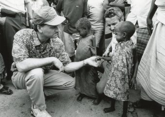 As Franklin Graham surveyed the needs in Somalia in 1992, God moved his heart to get Samaritan's Purse involved by providing medical care.