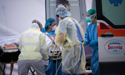 Samaritan's Purse is receiving coronavirus patients at our Emergency Field Hospital in Italy.