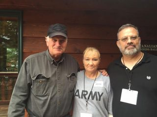 The Blanchetts enjoyed the opportunity to meet with Samaritan's Purse President Franklin Graham while in Alaska.