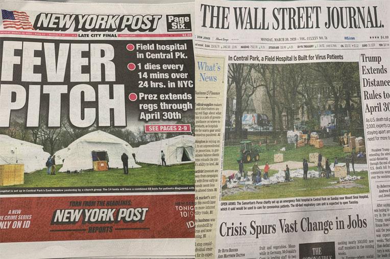 Media outlets highlight the work of Samaritan's Purse.