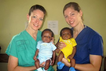 Dr. Denson spent a month in Haiti immediately following the 2010 earthquake.