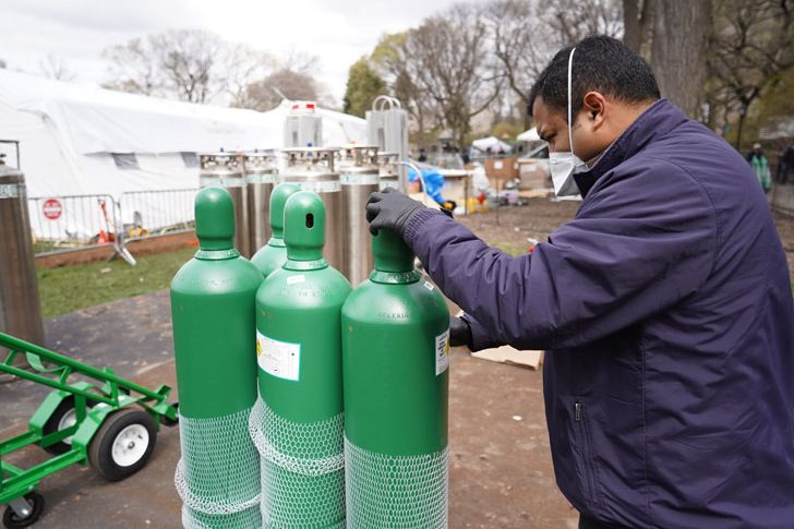 Oxygen tanks are a critical resource as we respond to this respiratory disease.