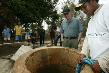 Our teams worked to provide clean water access to people in desperate need.