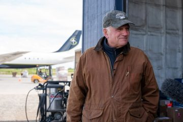 Franklin Graham met with our team in King Salmon.