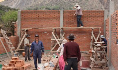 Bolivia church construction