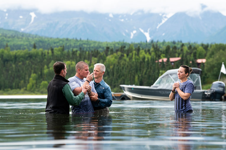 Army Sergeant Jake Southern, a veteran of both Iraq and Afghanistan, and Army Specialist Susan Southern were saved and baptized in Alaska.