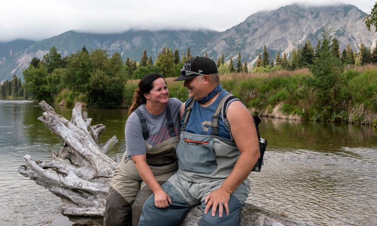 Army Staff Sergeant Josh Abbatoye and his wife Kyli enjoyed an unforgettable experience in the Alaskan wilderness.