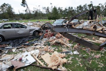 Bertie County was hard-hit by the EF-3 twister.