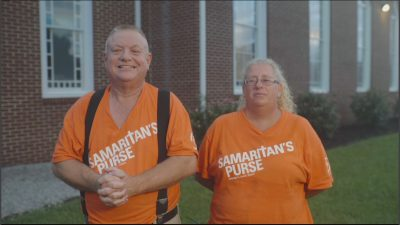 The Hoggards enjoy serving others and sharing God's Love