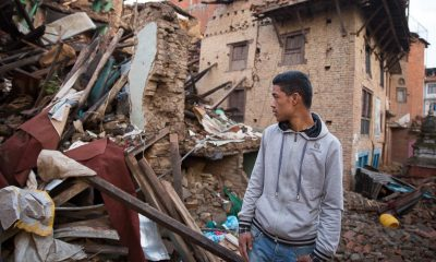 The Nepalese were left stunned and grieving by the destructive force of the earthquake.