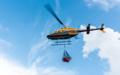 After Hurricane Dorian wiped out communities in the Bahamas last fall, our helicopters delivered much-needed fuel to cut-off parts of the island nation.