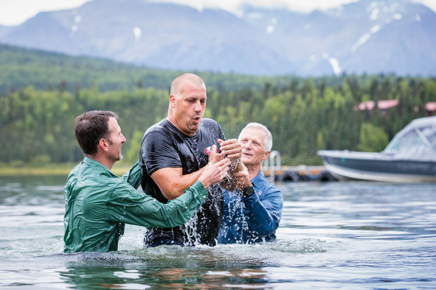 We praise God that He has worked in so many lives and marriages this summer in Alaska.
