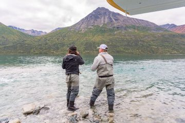Justin and Tara were one of 76 military couples this year to come to Samaritan Lodge Alaska for the 2020 summer season of Operation Heal Our Patriots.