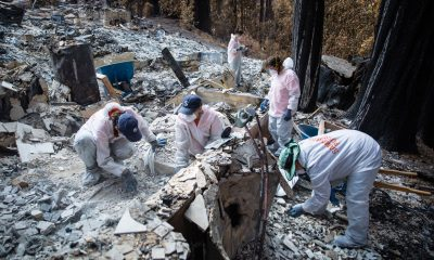 Our volunteers are sifting through the ashes to help homeowners recover personal belongings after wildfires have burned acres across Santa Cruz County, California.