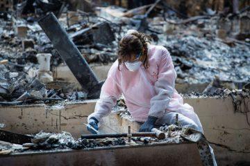 More than 900 homes have burned in Santa Cruz.