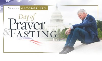 Day of Prayer and Fasting, Oct. 25