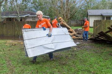Our volunteers have not stopped working hard for homeowners in need.
