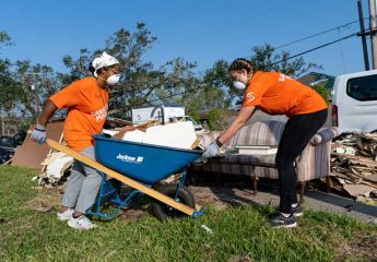 Our volunteers are working hard in Louisiana today and more are needed!