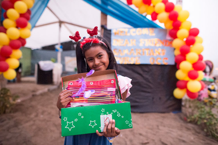 Your shoebox gifts are distributed in communities throughout South America, where children so desperately need to hear the truth of the Gospel and experience God's love in tangible ways.