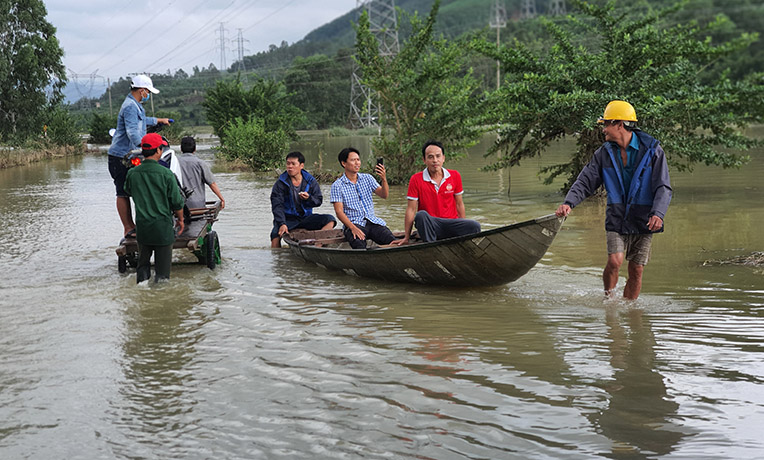 Vietnam is experiencing some of the worst floods in the country's history.