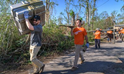 Edward Graham, Corey Lynch and other Samaritan's Purse staff joined Team Patriot volunteer teams in Louisiana this week.