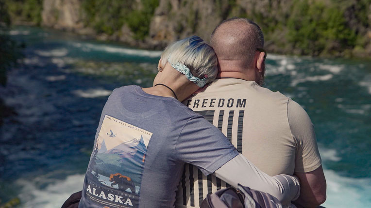 The couple experienced freedom in Christ during their time in Alaska, and how to build on a new foundation for their marriage.