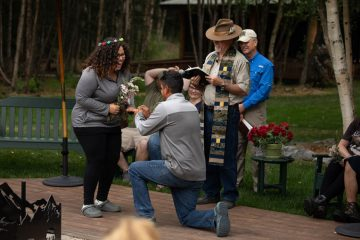 Army Sergeant Chris and Nicol Weis rededicated their marriage to God last year at Samaritan Lodge Alaska.