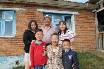 Purevsuren's family is reunited after many months due to Erdene's surgery.