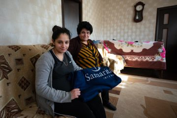 Families left their homes with little more than the clothes they were wearing. Blankets and other winter supplies will protect against the already-harsh winter months.